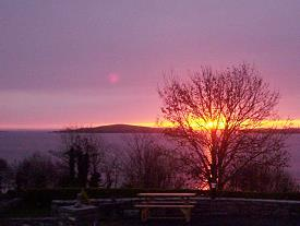 Sonnenaufgang am  Lough Corrib
